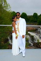Bre & Tyler's  Prom Photo's 2015